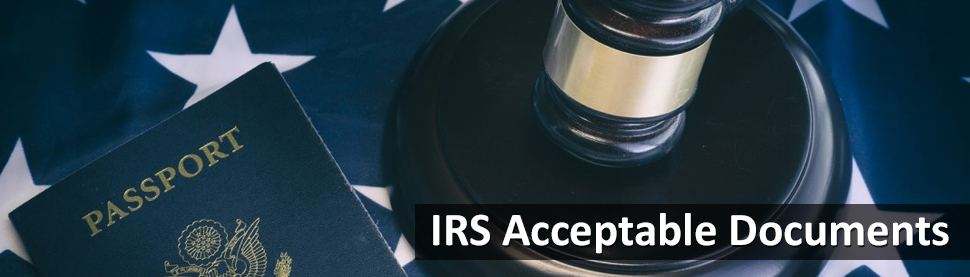 IRS Acceptable Documents